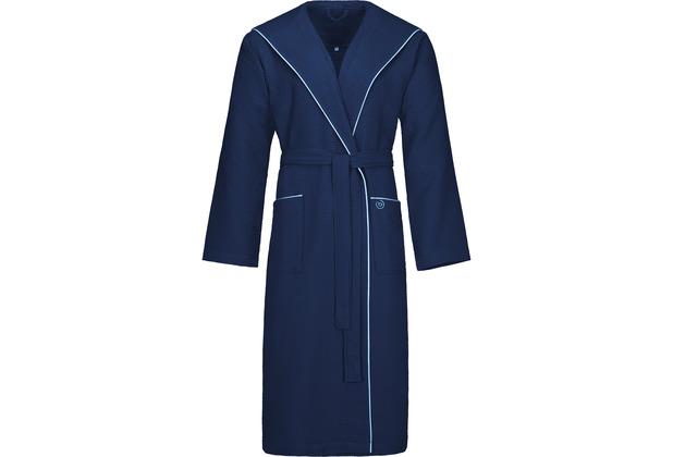 "Bugatti Bademantel \""Tizian\"" marine blau L"