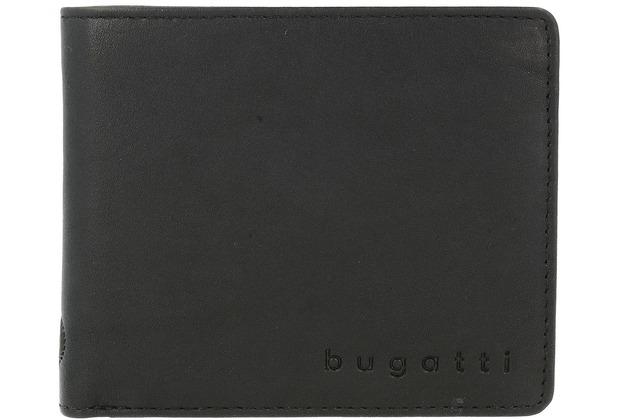Bugatti Primo RFID Geldbörse Leder 10,5 cm schwarz