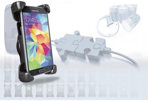 Bury activeCradle System 9 Universal New XXL für Smartphones
