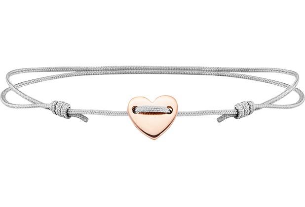 Cai Armband 925/- Sterling Silber rotvergoldet Herz  21641