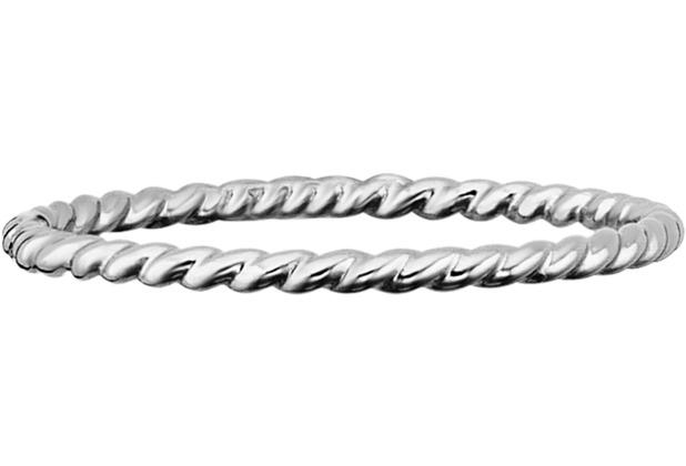 Cai Ring 925/- Sterling Silber rhodiniert weiß 21073 50 (15,9)