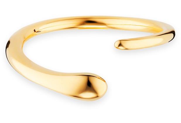 Cai Ring 925/- Sterling Silber vergoldet geschwungen gelb 21195 50 (15,9)