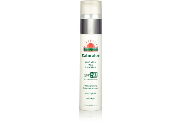 Canarias Cosmetics CALMALOE FACE SUN CREAM SPF50 50 ml