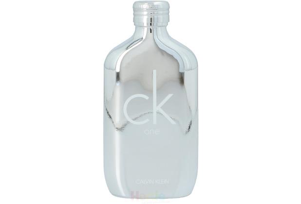 Calvin Klein CK One Platinum Edt Spray 100 ml