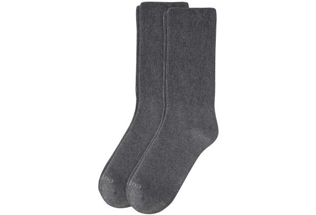 Camano Socken - super soft 08 anthrazit 2 Paar 5913 35-38