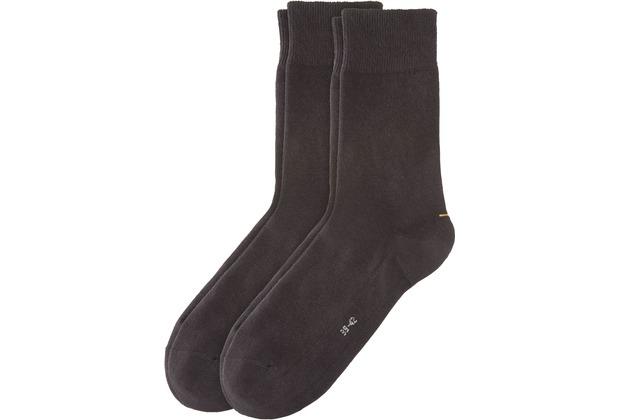 Camano Unisex Sport Socks 2er Pack black 35/38