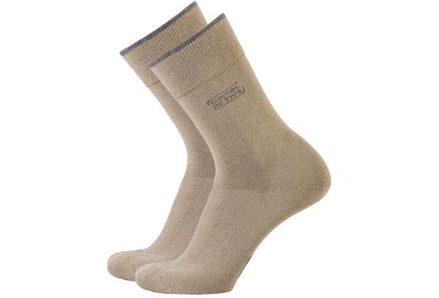 Camel active Socken 2er-Pack erdbraun 43-46