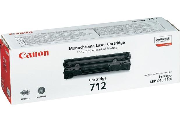 Canon Lasertoner CRG-712 schwarz 1.500 Seiten