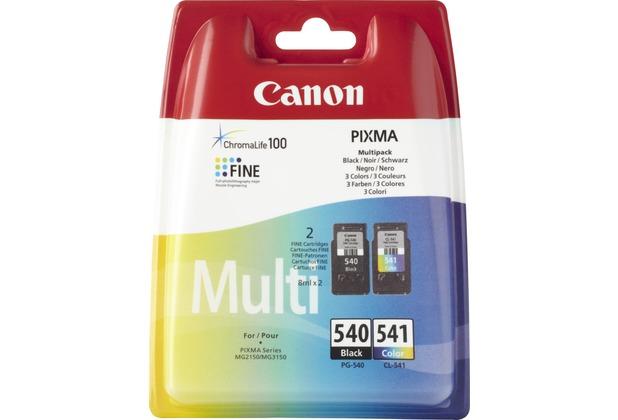 Canon Tinten Kombipack 5225B006 schwarz/color PG-540/5225B005, CL-541/5227B005