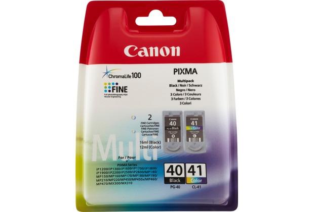 Canon Tinten Kombipack PG-40/CL-41 schwarz/color