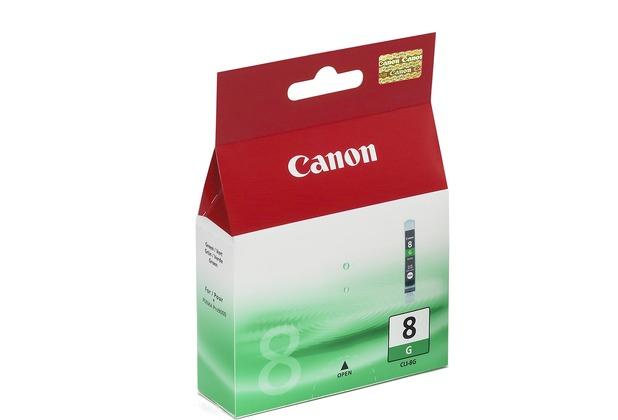 Canon Tintenpatrone CLI-8G, grün