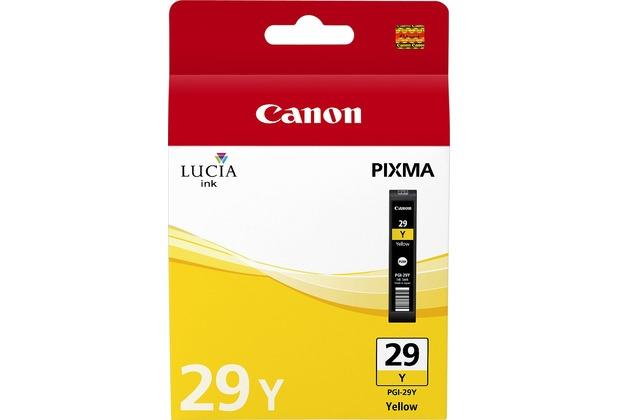 Canon Tintenpatrone PGI-29Y gelb