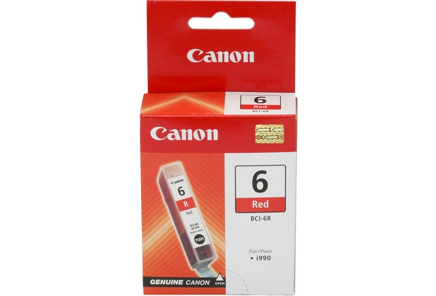 Canon Tintentank Rot BCI-6R für Canon i990 / i9950