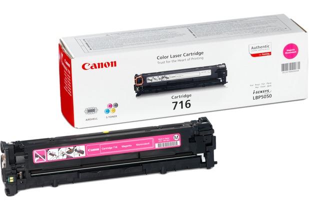 Canon Toner 716 M Magenta (ca. 1500 Seiten)