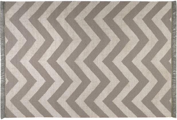 carpets&co. Teppich Zig-Zag GO-0003-02 natur 80x150