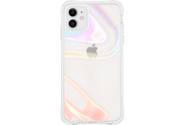 case-mate Soap Bubble Case, Apple iPhone 11, transparent/schillernd, CM043110