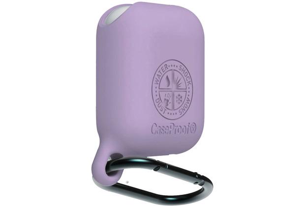 CASEPROOF Waterproof AirPods Case violet
