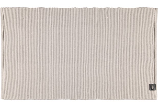 cawö Badteppich (handgewebt) travertin 60 x 100 cm