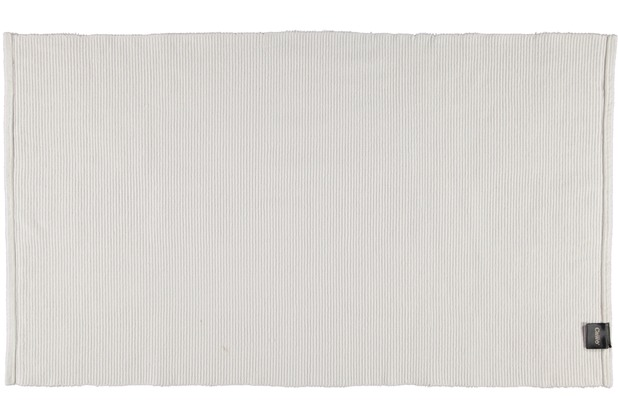 cawö Badteppich (handgewebt) weiß 60 x 100 cm