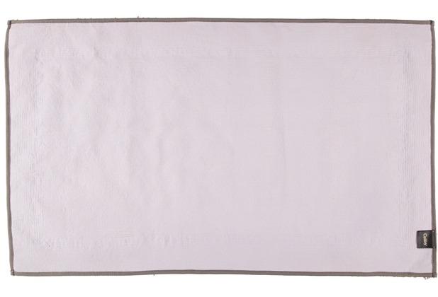 cawö Badteppich (rutschfest) graphit 60 x 100 cm