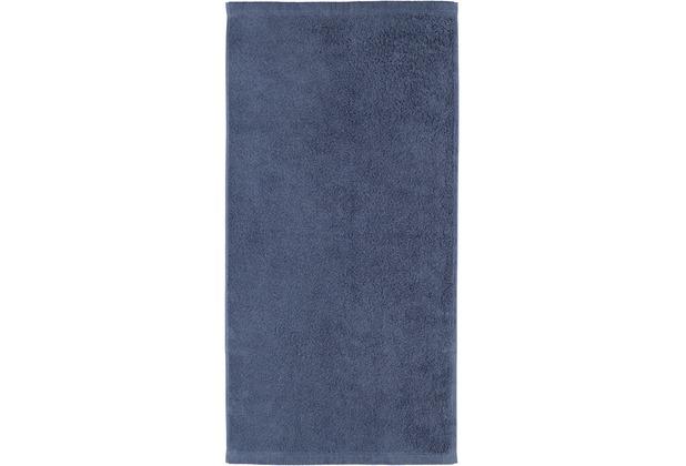 cawö Duschtuch nachtblau 70 x 140 cm Walkfrottier