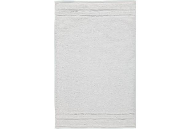 cawö Gästetuch weiß 30 x 50 cm