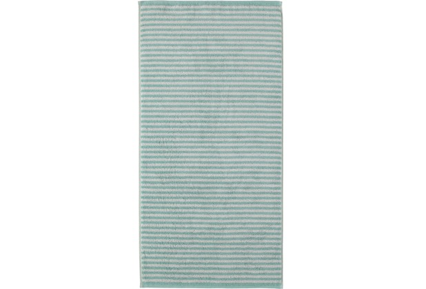 cawö Handtuch seegrün 50 x 100 cm