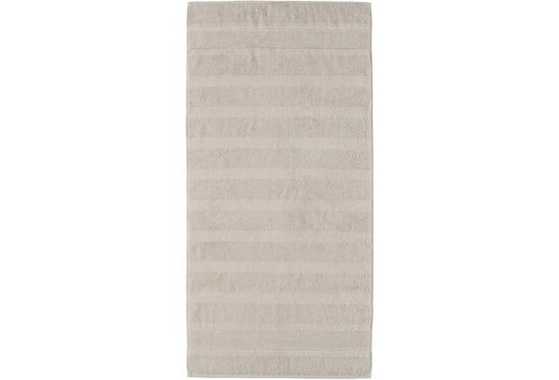 cawö Handtuch travertin 50 x 100 cm, Querstreifen