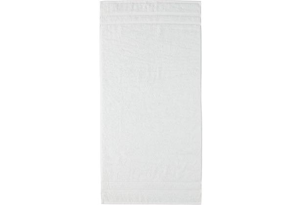 cawö Handtuch weiß 50 x 100 cm