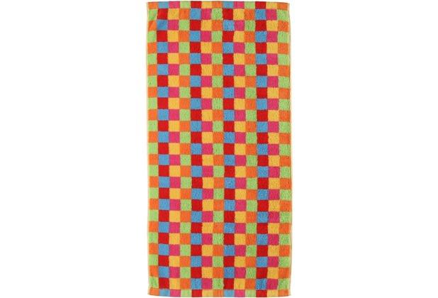 cawö Lifestyle Cubes Handtuch multicolor 50x100 cm