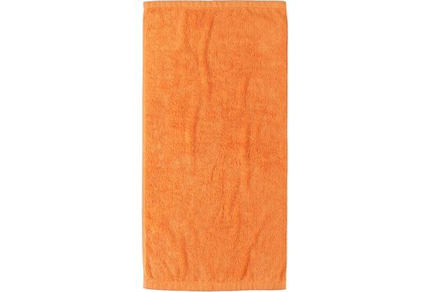 cawö Lifestyle Uni Duschtuch mandarine 70x140 cm