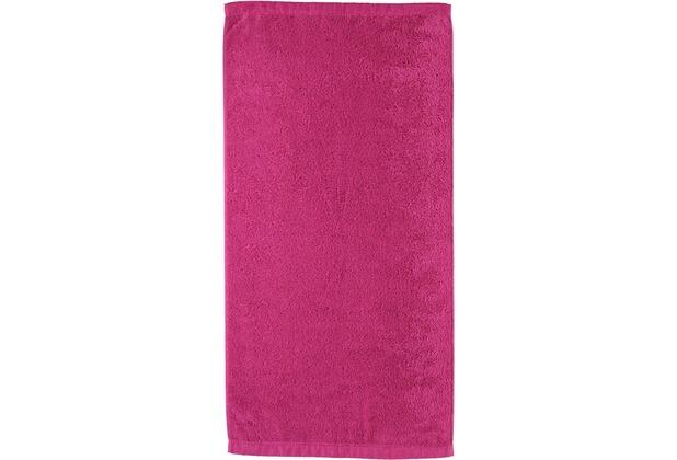 cawö Lifestyle Uni Duschtuch pink 70x140 cm