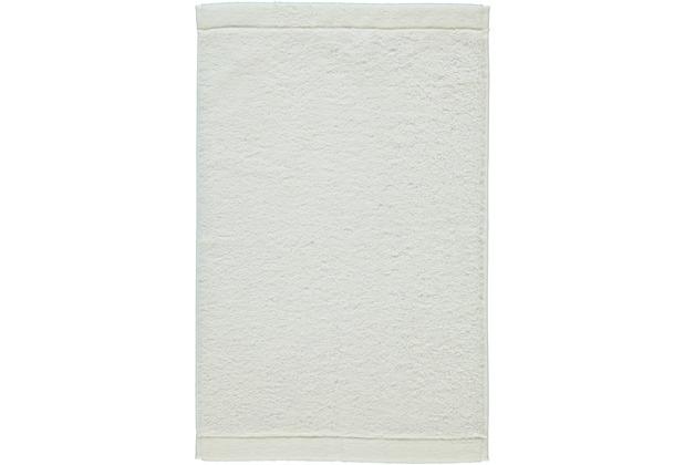 cawö Lifestyle Uni Gästetuch weiß 30x50 cm