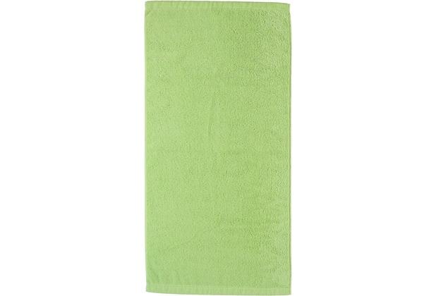 cawö Lifestyle Uni Handtuch pistazie 50x100 cm