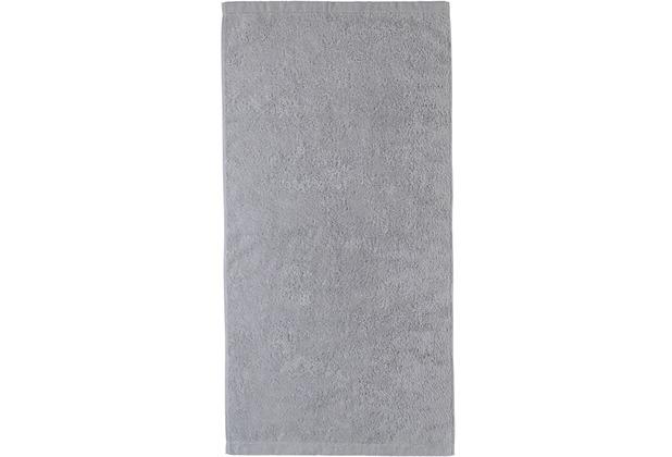 cawö Lifestyle Uni Handtuch platin 50x100 cm