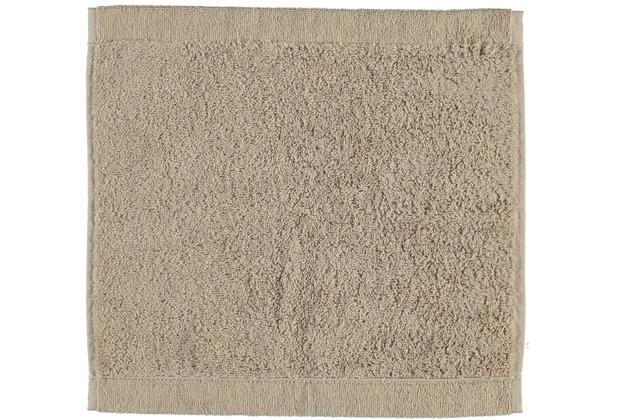cawö Lifestyle Uni Seiflappen mauve 30x30 cm