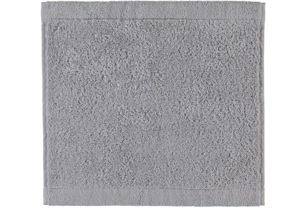 cawö Lifestyle Uni Seiflappen platin 30x30 cm