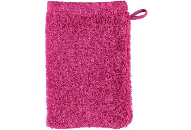 cawö Lifestyle Uni Waschhandschuh pink 16x22 cm