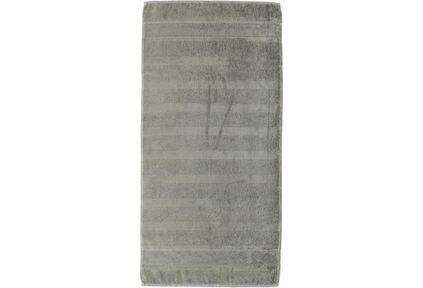 cawö Noblesse² Uni Duschtuch graphit 80x160 cm