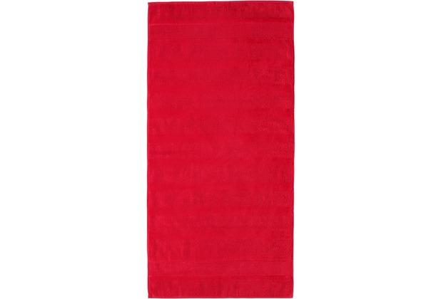 cawö Noblesse² Uni Duschtuch rot 80x160 cm
