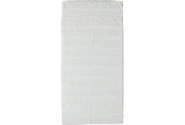 cawö Noblesse² Uni Duschtuch weiß 80x160 cm