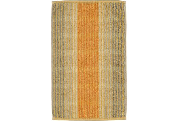 cawö Noblesse Cashmere Streifen Gästetuch melba 30x50 cm