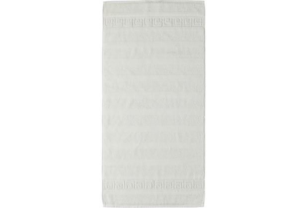 cawö Noblesse Uni Handtuch weiß 50x100 cm