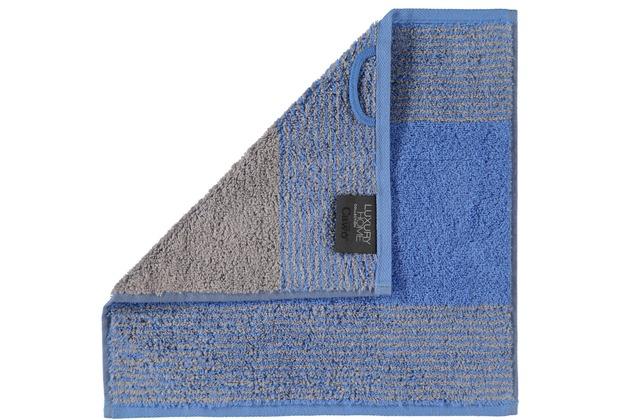 cawö Seiftuch blau 30 x 30 cm