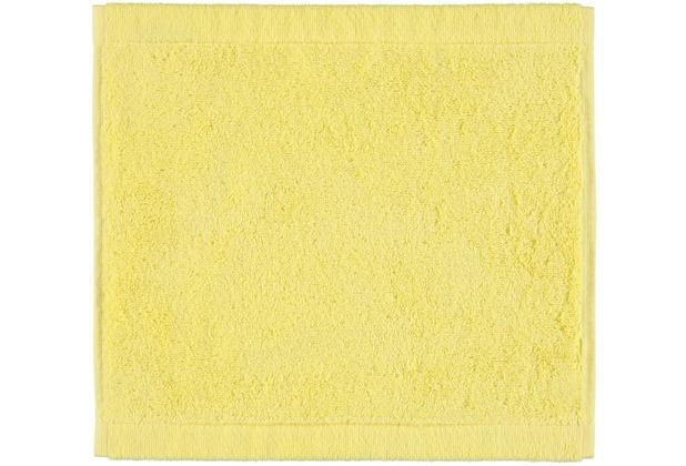 cawö Seiftuch lemon 30 x 30 cm