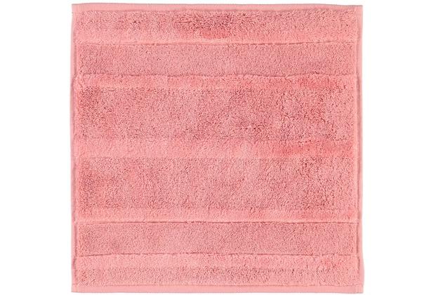 cawö Seiftuch rouge 30 x 30 cm Streifen