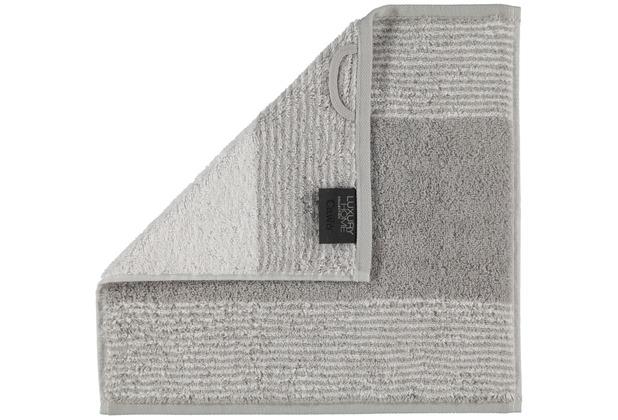cawö Two-Tone Seiflappen platin 30x30 cm