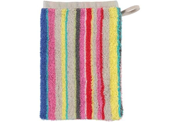cawö Waschhandschuh multicolor 16 x 22 cm
