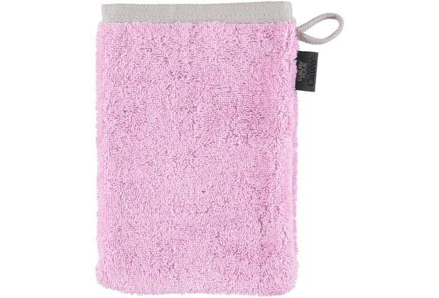 cawö Waschhandschuh pink 16 x 22 cm