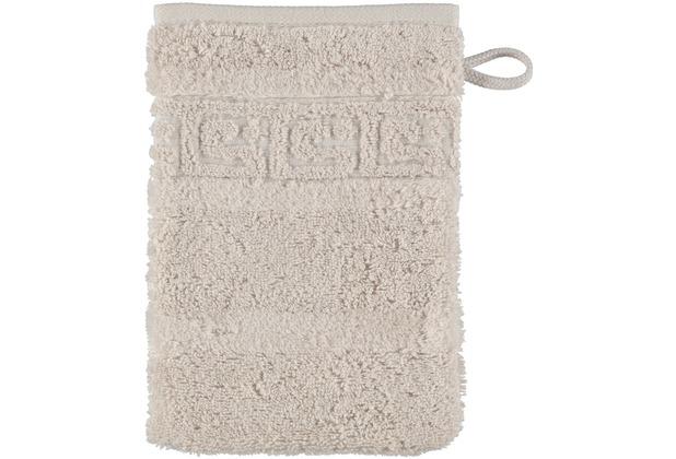 cawö Waschhandschuh travertin 16 x 22 cm, Muster